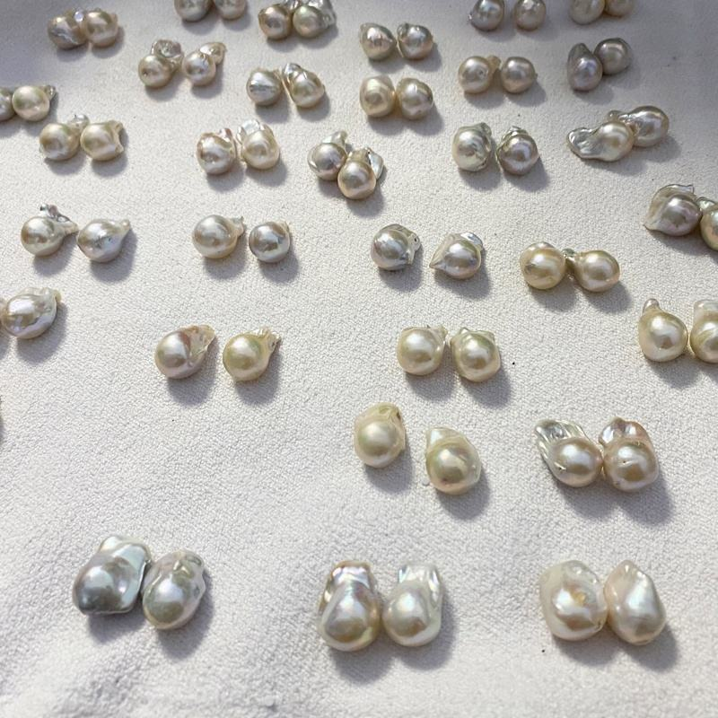 Hot Sell Big Size Baroque Pearl 15mm 16mm 18mm 3A Good Quality with High Luster Natural Freshwater Loose Baroque Pearls Beads