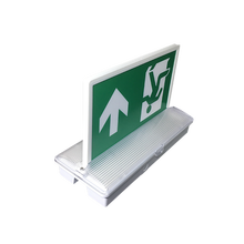 High Power Left Arrow Legend Light Emergency Exit Sign
