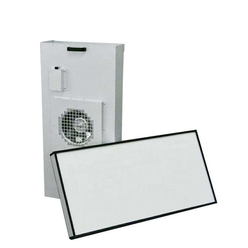 Laminar Flow Cabinet Industrial Clean Room FFU Low Noise HEPA Fan Filter Unit