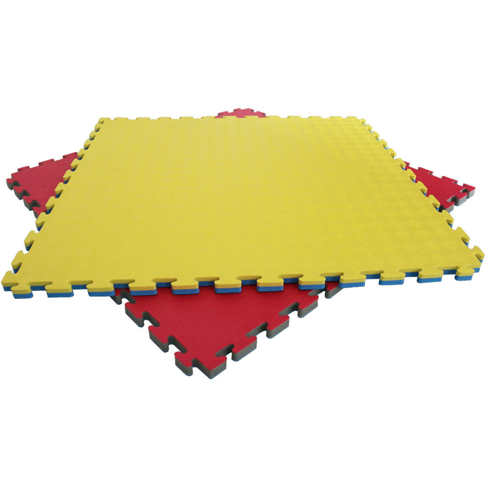 Low Density Appropriate 2.5cm EVA Foam Jigsaw Judo Interlocking Mats