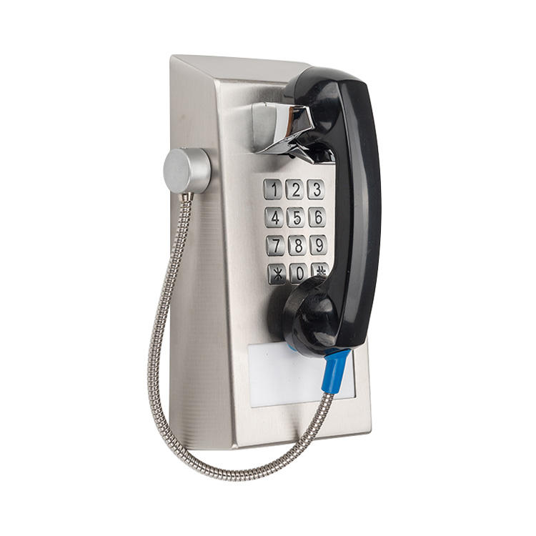 stainless steel wall mounted Jail prison visit area prison phone for jail