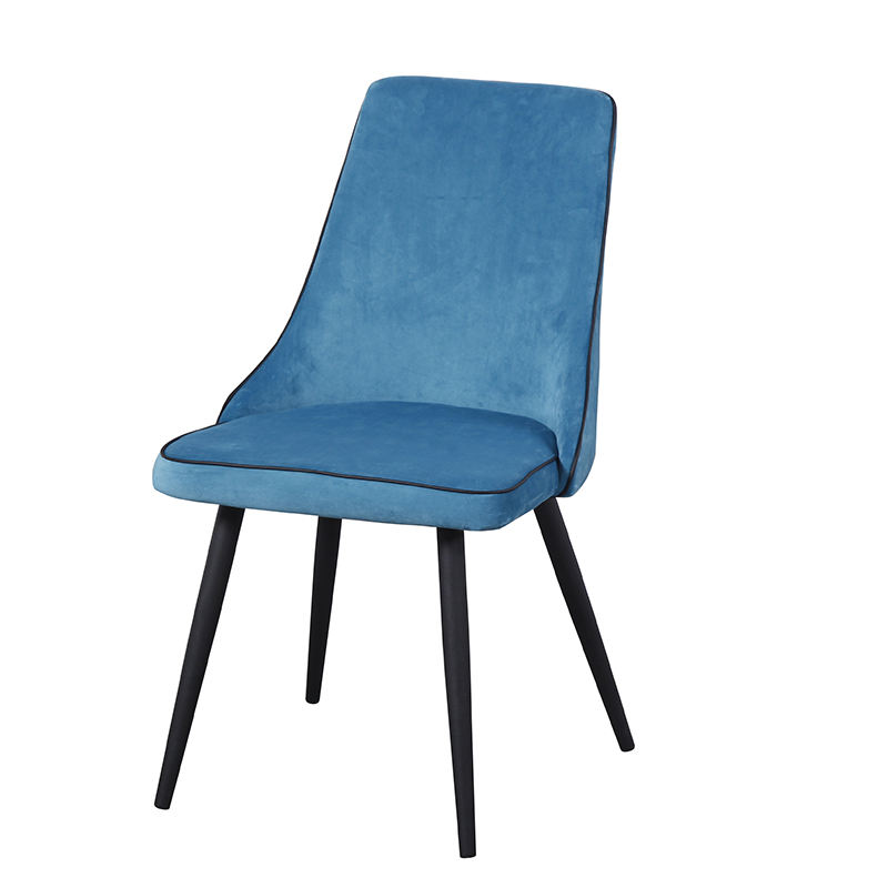 Danish Design Nordic Style Velvet Comfortable Luxury Leisure Dining Chair