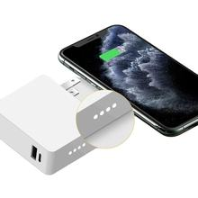 3 in 1 Portable Wireless Charger Power Bank 4500mAh Travel Adapter Power Bank for Business Trip