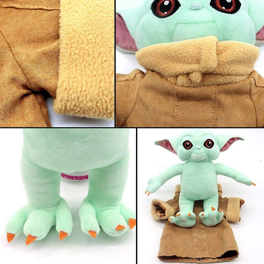 25cm Yoda Plush Toy Cute Baby Yoda Doll Best Gift For Kids Birthday Gift And Children's Day