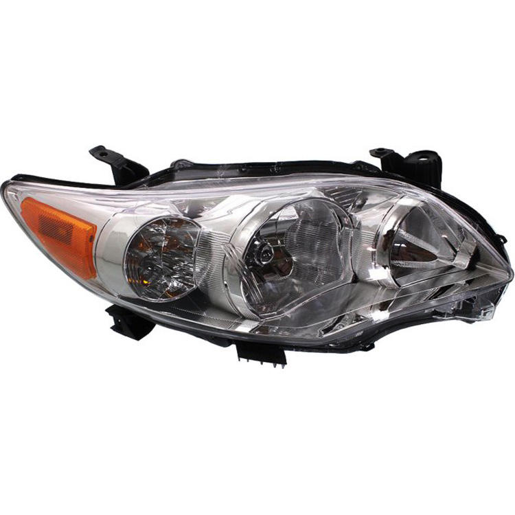 Auto Parts Halogen Head Light Car Headlight For Corolla 2010