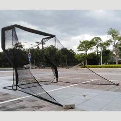 Black Golf hitting net outdoor indoor golf swing practice net