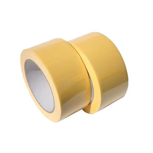 Free sample available high adhesion easy tear pvc self adhesive tapes