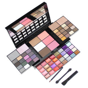 GLEAMUSE Professional 74 Color Eye Shadow Set Makeup Cosmetic Soft Matt Pearl Eyeshadow Palette Make Up Kit sombras para ojos