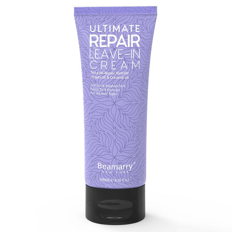 Nourishing Repairing Hydrating Ultimate Live-in Hair Treatment Cream for Damaged Hair