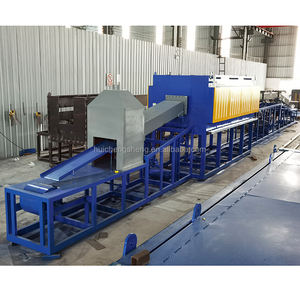 Continuous bright annealing heat treatment furnace for stainless steel stamping parts