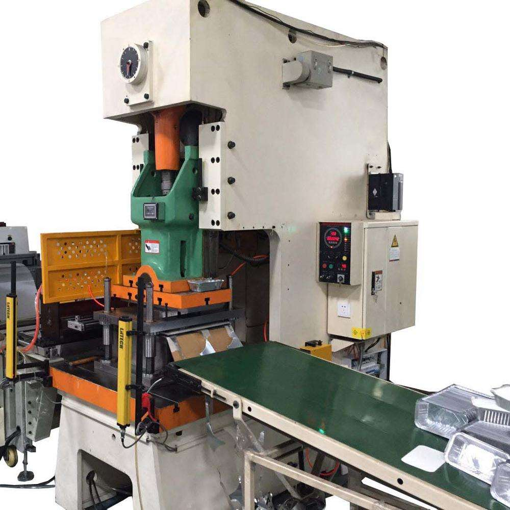 Fully Automatic Aluminium Foil Container Making Machine Paper Plate Making Machine Price