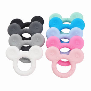 Baby Pendant Animal Toy Custom Bpa Free for Babies Wholesale Silicone Teether