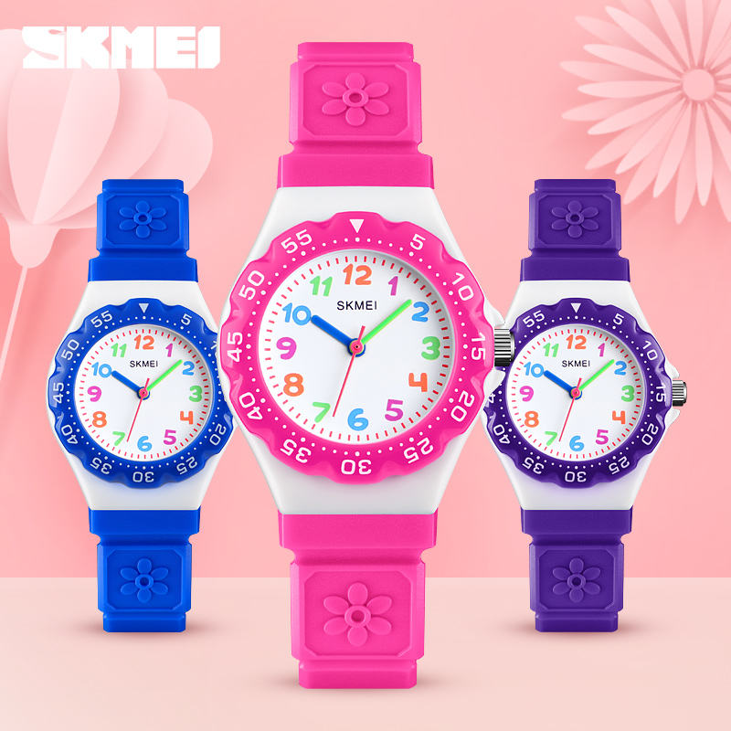 High quality fashion new boys and girls skmei 1483 children wristwatch silicone belt kid watches quartz