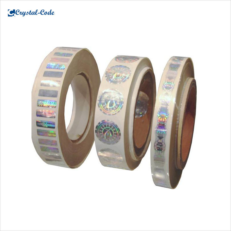 Packaging Customization [ Label ] Your Label Purified Reflective Transparent Overlays Seal Hologram Label