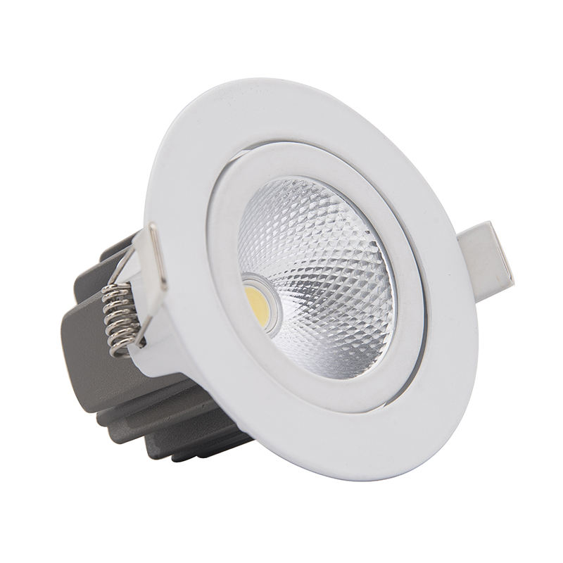 Moderne Smart Spot Led Downlight Residentiële Dimbare Warm Natuur Pure Wit Verzonken Led Down Lamp Licht Verstelbare