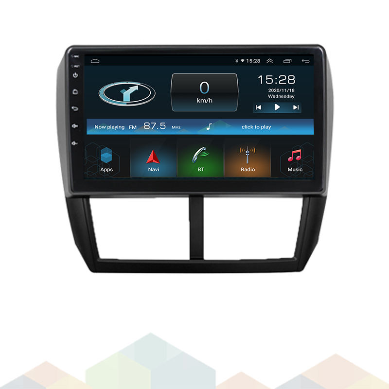 2021 Android Car Radio Focus Auto Player Support Car Steering Wheel AM FM GPS For Subaru FORESTER 2008 2009 2010 2011 2012