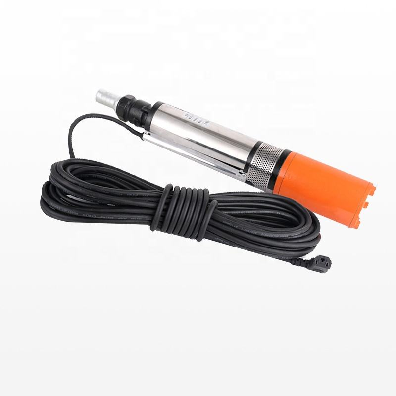 dc submersible pump and brush motor 12v garden water pump 0.33hp small centrifugal submersible solar deep well pump