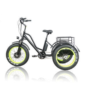 2020 popular China fat tire electric tricycles three 3 wheels Electric tricycles E trike bike bicycles