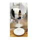 Advertising Players round mirror booth with totem touch screen
