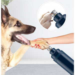 Commercio all'ingrosso professionale pet grooming forniture ricaricabile trimmer clippers usb 2 Velocità elettrico dog cat nail grinder