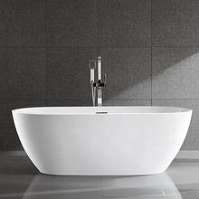 Oval Bath Tub with Large Soaking Space