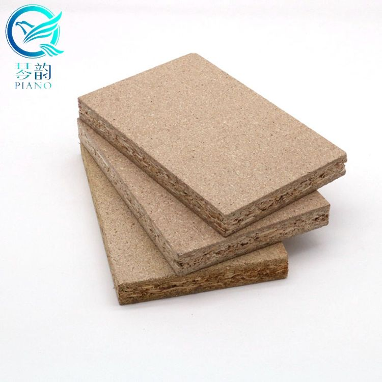 raw plain waterproof & fire resistant chipboard sheets good price for door / furniture and cabinet