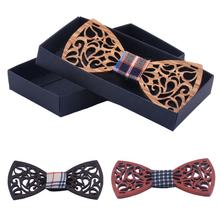 Handmade Wooden Bow Tie Men's Fashion Gifts