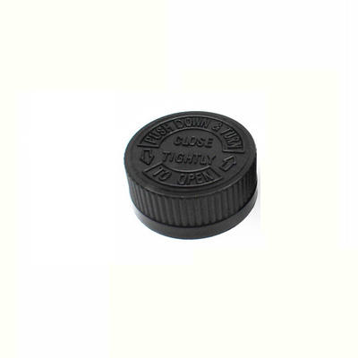 hot sale 28mm 38mm 53mm 70mm plastic CRC childproof cap