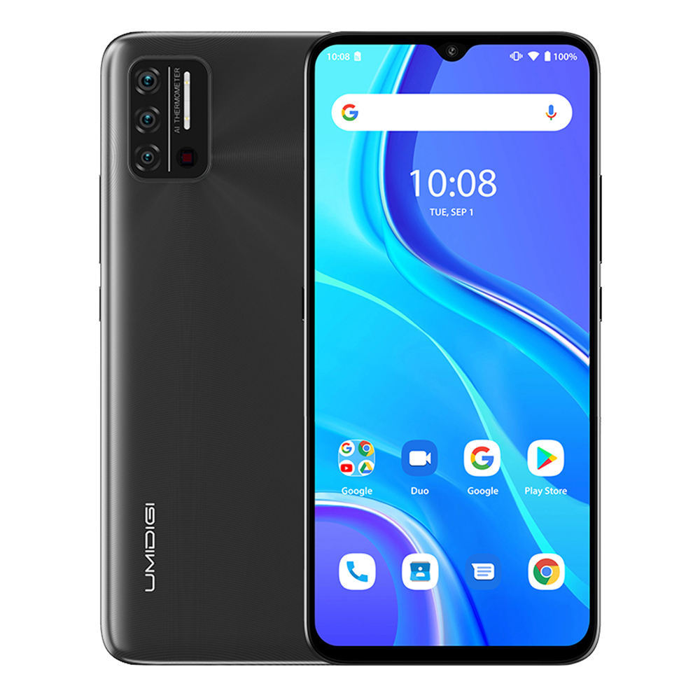 "UMIDIGI A7S Android Smartphone 4150mAh 2G/32GB Triple Camera Cellphone 6.53"" 13MP Selfie Triple Slots Dual 4G Mobile Phone"