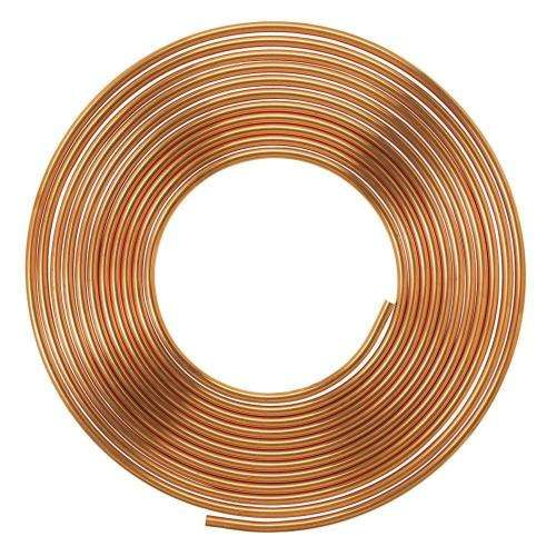 3/8'' Inch Diameter Refrigeration Copper Tube Coil