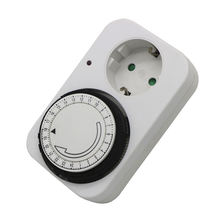 Good Quality 16A Timer Socket Mechanical 24 hours mini countdown digital timer