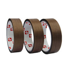 High Temperature Silicone Adhesive Heat Resistant PTFE Glass Teflons Tape for Bag Sealing Machine
