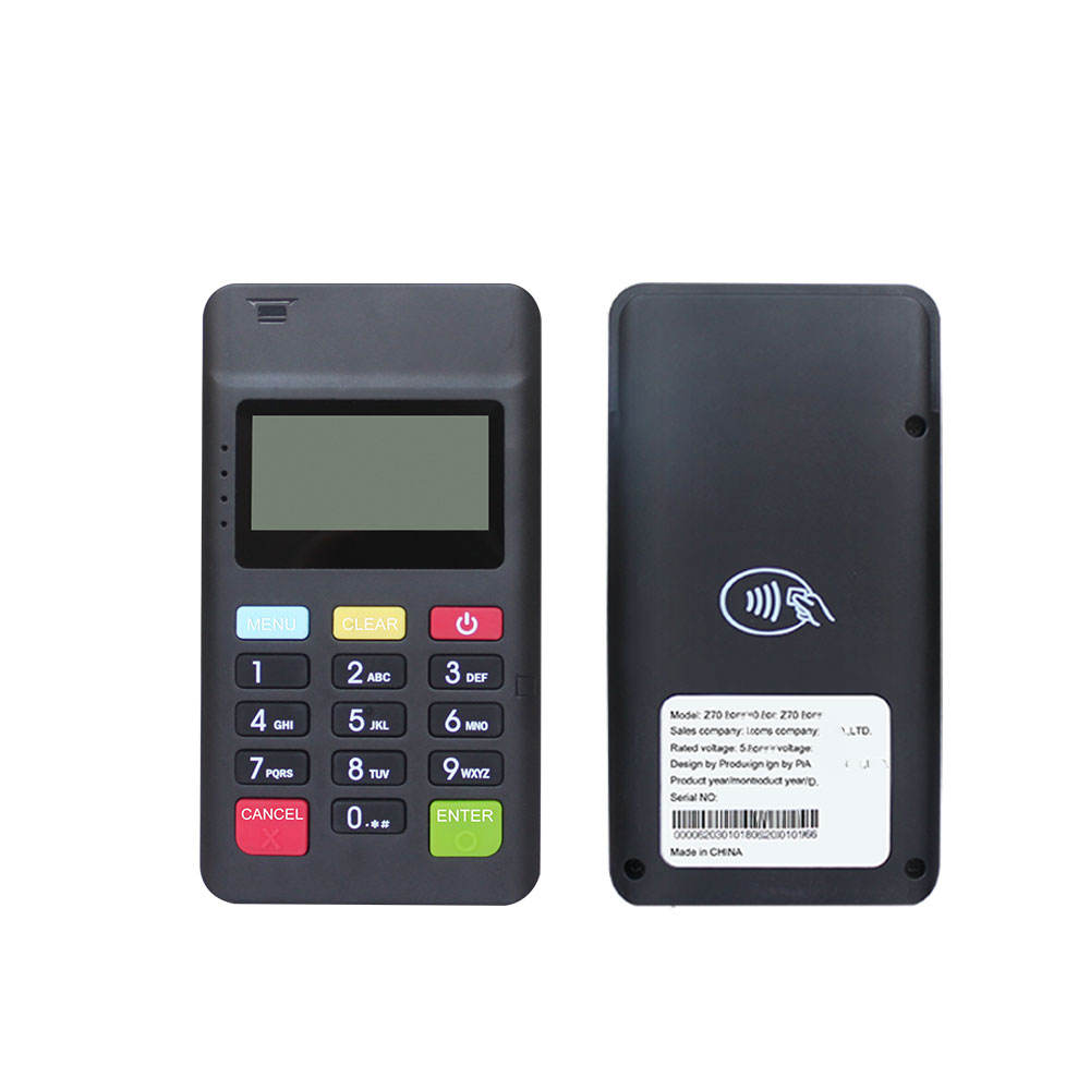 3 in 1 Mobile Android Mini <span class=keywords><strong>POS</strong></span> Bluetooth MSR Chip NFC Smart Card Reader Terminale MPOS