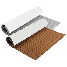 High quality 3M 6mm custom self adhesive eva faux teak marine boat outdoor flooring decking sheet for boat