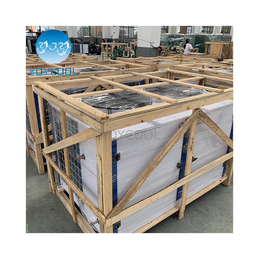 cool stage condensing unit curtain prevent cold room condensing unit Republic of Korea condensing unit