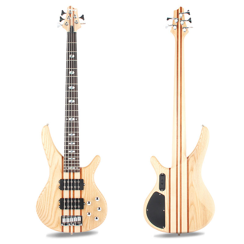 Electric bass guitar 5 strings high quality factory direct sale professional custom OEM