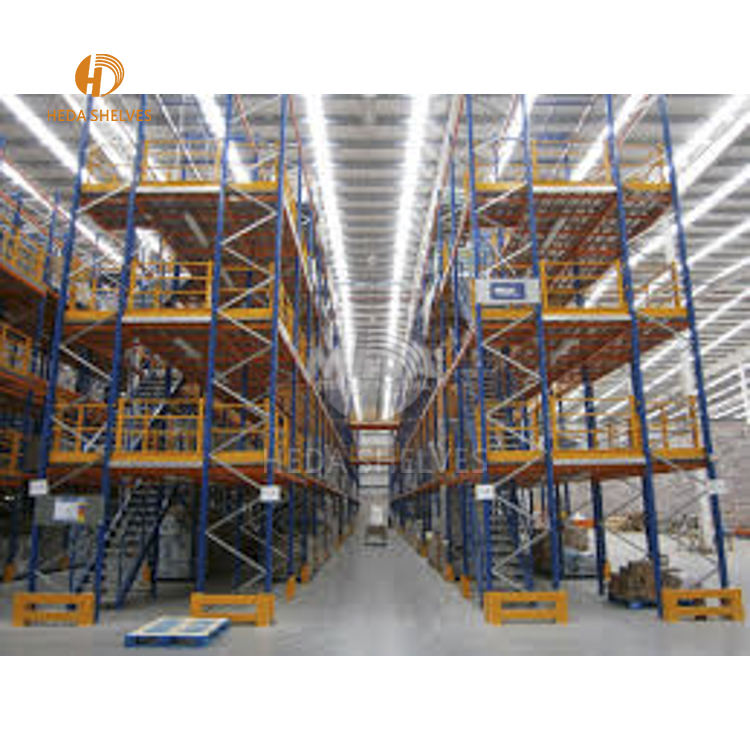 Narrow aisle pallet racking High Bay Racking system
