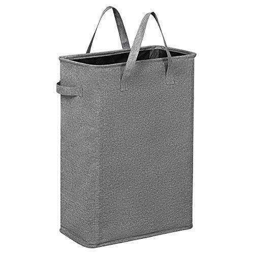 45L Slim Laundry Hamper Small Collapsible Laundry Basket Thin Narrow