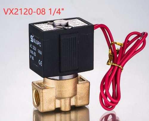Widely used steam iron solenoid valve controlling for steam SLGPC-VX2120-08
