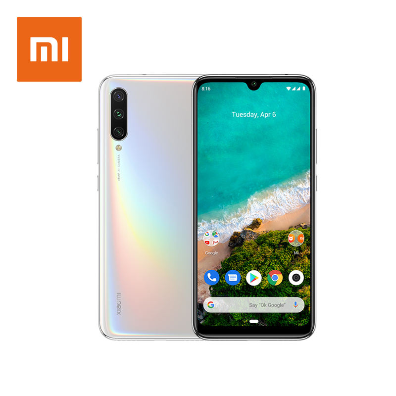 Großhandel globale Version Xiaomi Mi A3 4GB 64GB Android One Snapdragon 665 Smartphone 48MP Handy