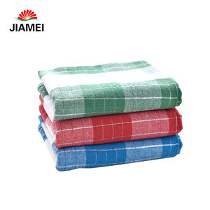 Green Square 100% Cotton Jacquard Yarn Dyed Napkin Wholesale