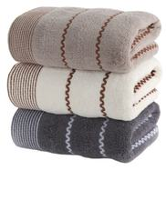 Luxury Bamboo Towels Cotton Wash Face Bath Household Adult Men Soft Absorbent Hair bathroom towel sets christmas towels BB50YJ