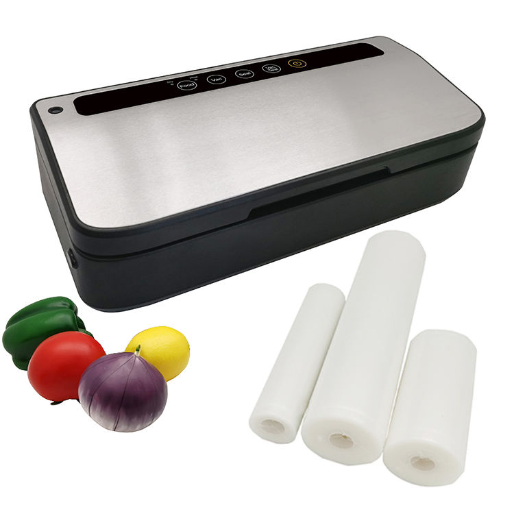 multi-function portable automatic jar food vacuum sealer packing machine with bag roll