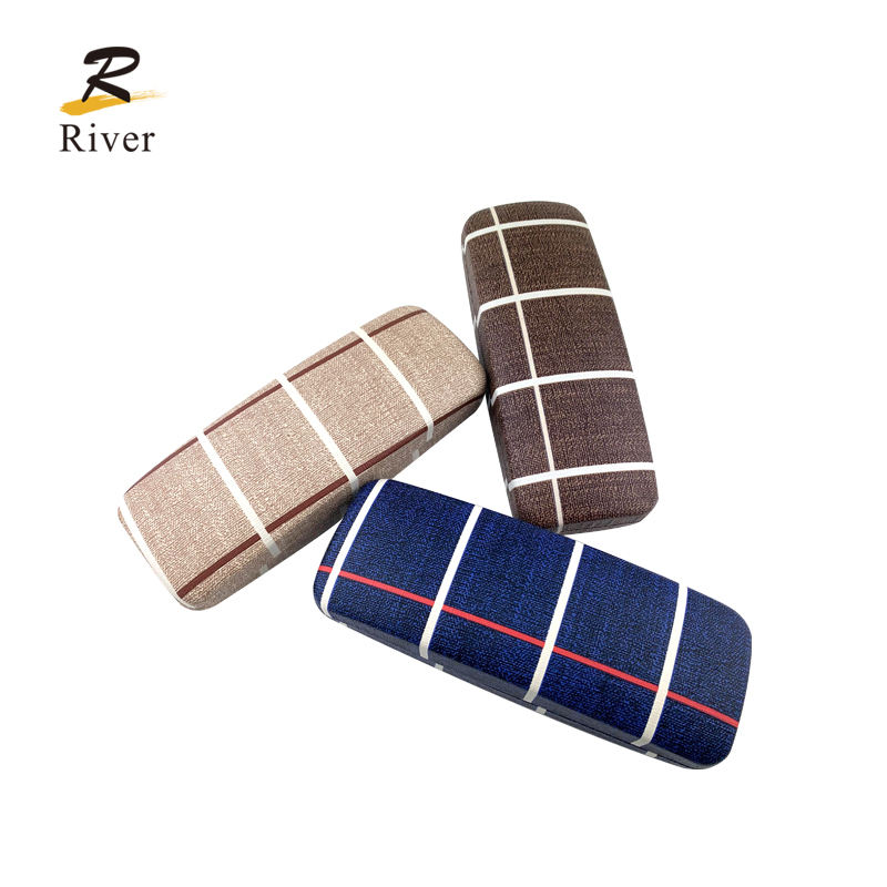 fashion sunglasses optical frame hard metal felt glasses case decorative eyeglasses case
