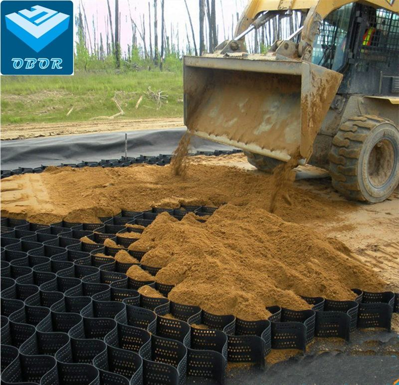 Factory low price HDPE paving plastic gravel stabilizer geocell for sale
