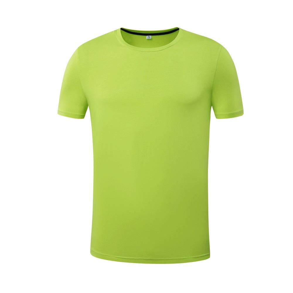 competitive price spring and summer high quality solid round collar casual and sporty running plus size outdoor for man t- shirt