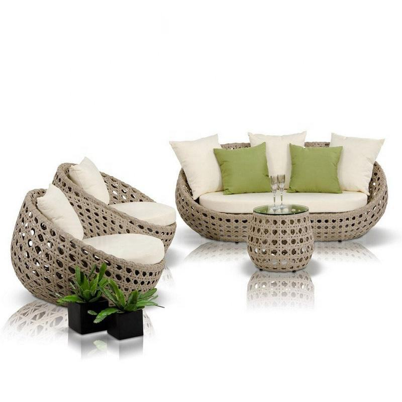 high quality sofa garden set rattan/wicker furniture set patio outdoor furniture