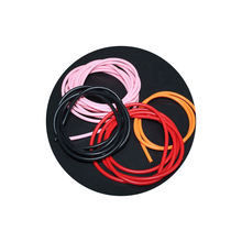 Customized No Smell Silicone Rubber Strips Clear Natural Silicone Solid Rubber String For Necklace