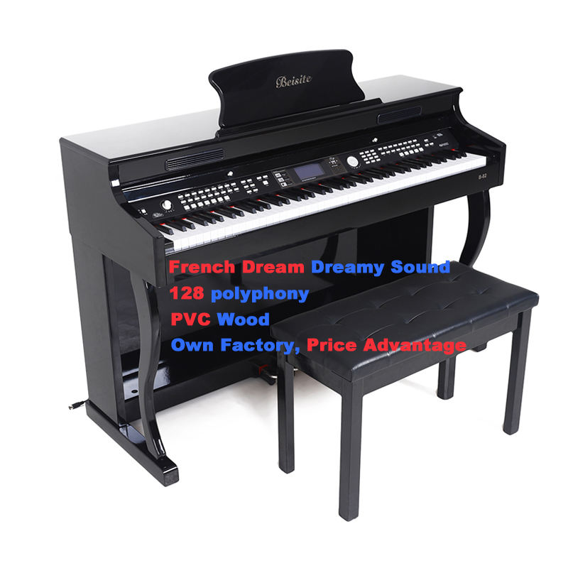 Digital piano 82 MIDI Multi-function digital electronic 88 keys piano