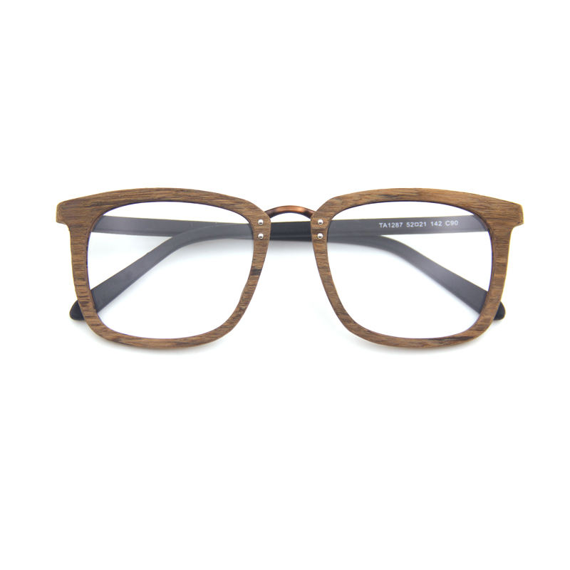 Sun glasses manufacture hand polished wood acetate sunglasses 2019 bran